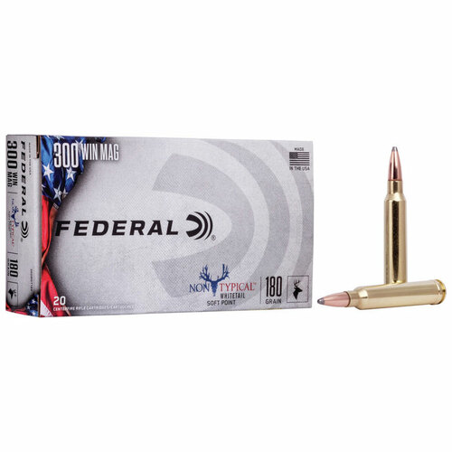 Federal Non-Typical 300 Win Mag, 180 gr, NTSP Ammunition