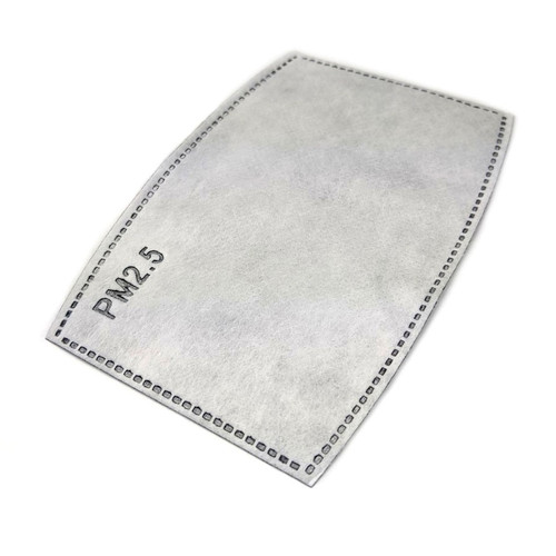 TIC PM2.5 Face Mask Filter - 2.5 Micron Particulate Filter Insert, 2 Pack