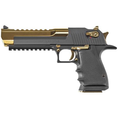 Magnum Research Desert Eagle Mark XIX L6 Pistol, Ti Gold Two Tone