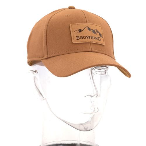 Browning Terrain Snapback Hat - Tan