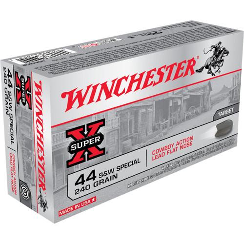 Winchester Super X Ammunition - 44 Special, 240 gr, LFN, 50 Rounds