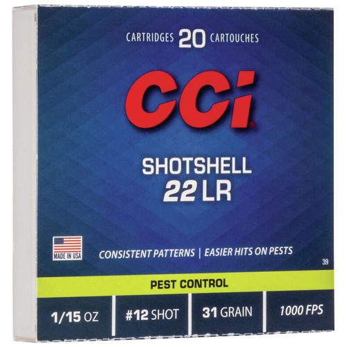 CCI Rimfire Shotshell 22 LR Rimfire Ammunition