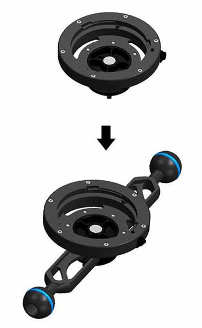 25512 Lens holder for Inon LD mount