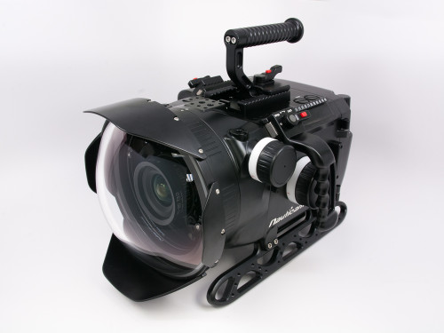 16133 Digital Cinema System for ARRI ALEXA Mini Camera (includes N200 250mm optical glass wide angle port, N200 extension rings 30, 40 and 50, and lens control drive shafts)
