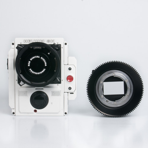 16409 N120 Adaptor for Nikon-R UW Nikonos RS Lenses with RED DSMC Lens Mount