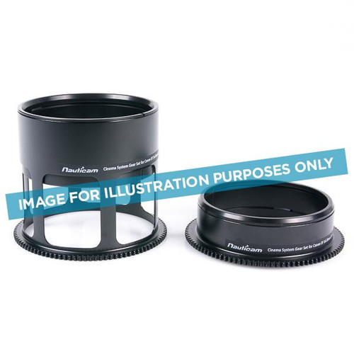 16339 Nauticam Cinema Gear Set for Canon EF 24-105mm f/4L IS II USM