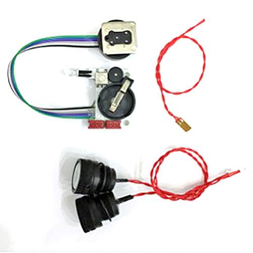 UWT TTL Converter for NIKON-D500 for ISOTTA D500 Housing, including 2 pcs Optical Bulkheads and Leak Detector