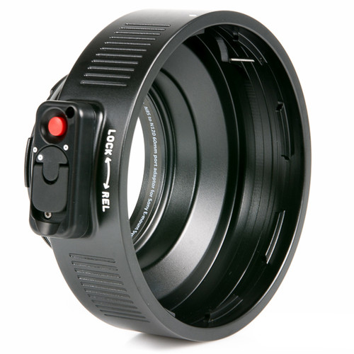36204 N85 to N120 60mm Port Adaptor for Sony E-mount System