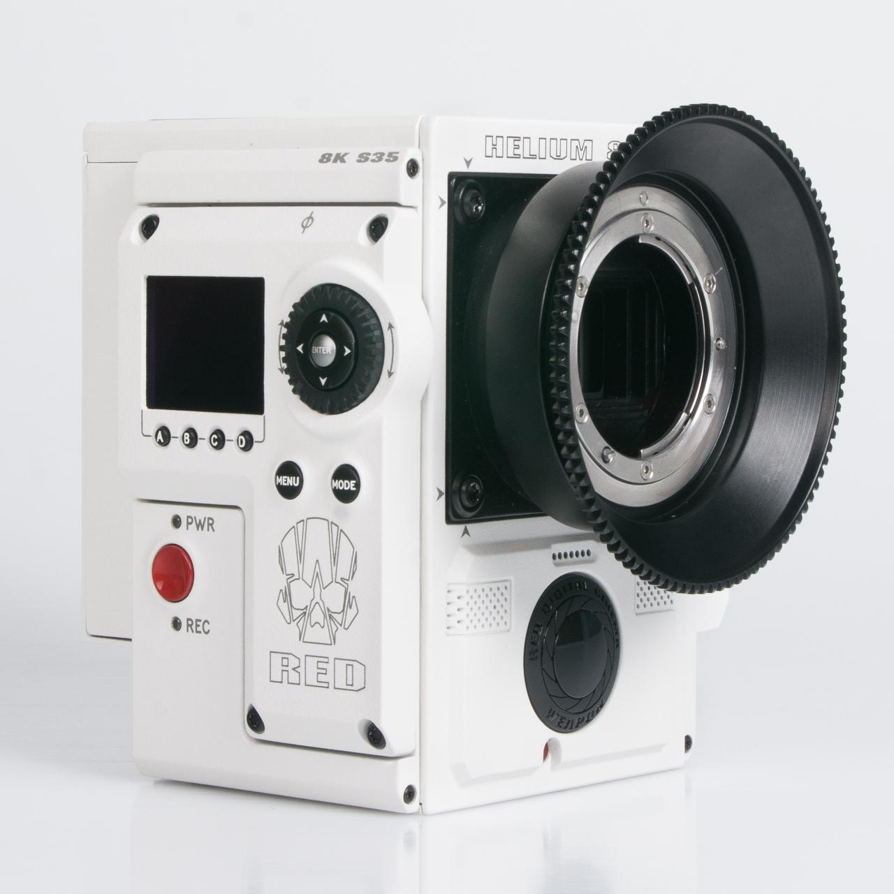16409 N120 Adaptor for Nikon-R UW Nikonos RS Lenses with RED DSMC Lens Mount