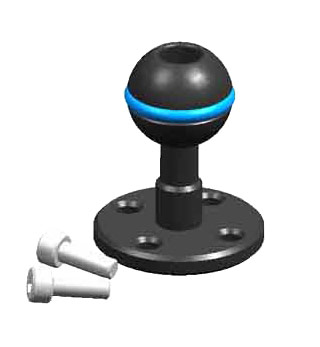 25111 Strobe Mounting Ball for Handle with Screws