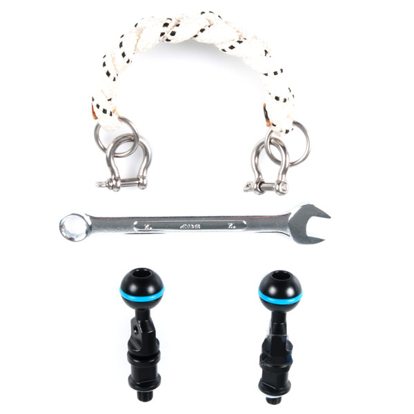 25223 Lanyard-20cm & M10 Strobe Mounting Ball Set