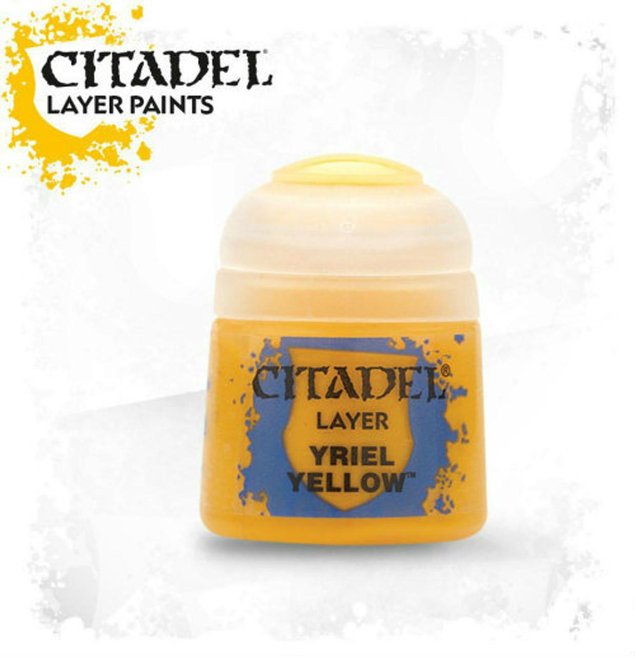 Citadel: Layer Paint - Yriel Yellow (12ml)
