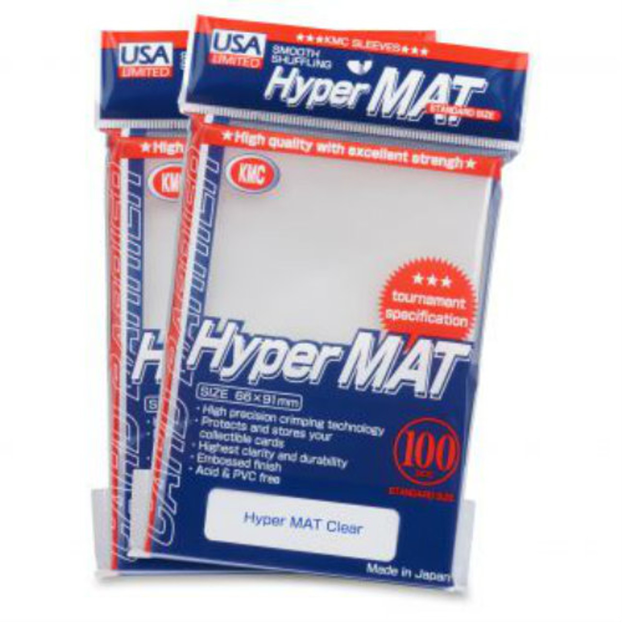 KMC: Hyper Matte Clear - 100 ct
