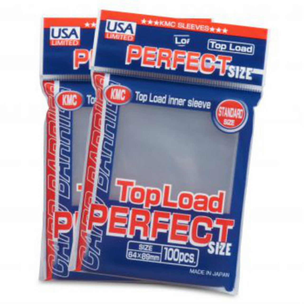 KMC: Perfect Size Sleeves - Top Load