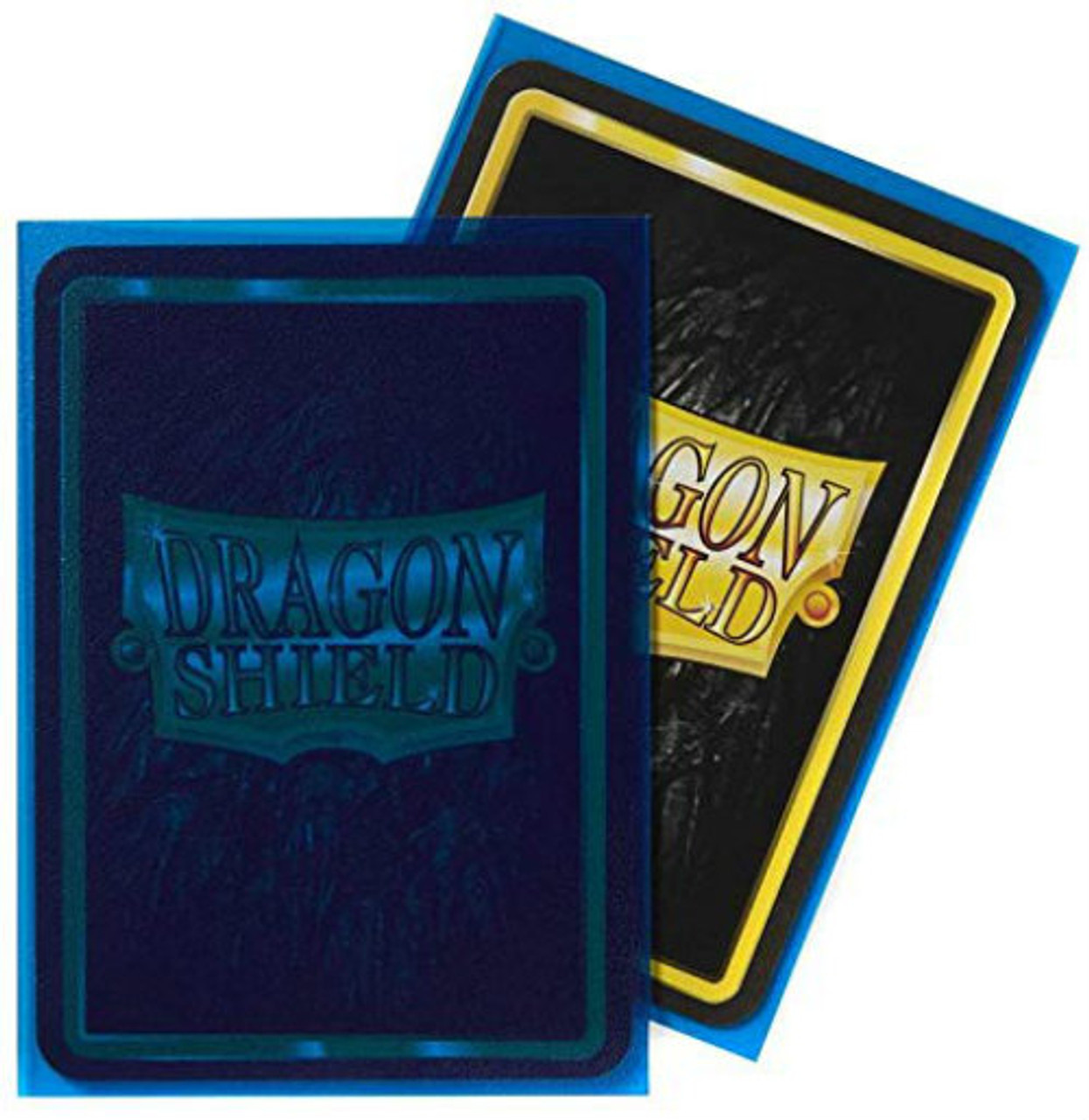 Dragon Shield: Standard Card Sleeves - Matte Clear Blue (100 ct)