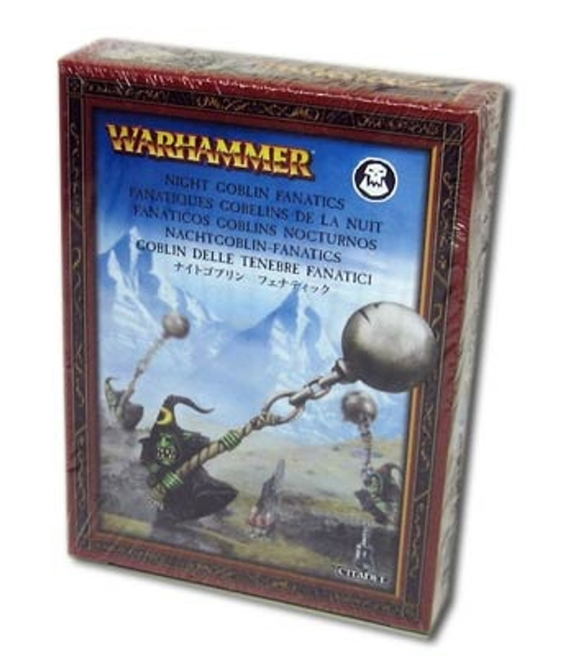 Brand New in Box! Warhammer AoS Gloomspite Gitz Fanatics 89-24