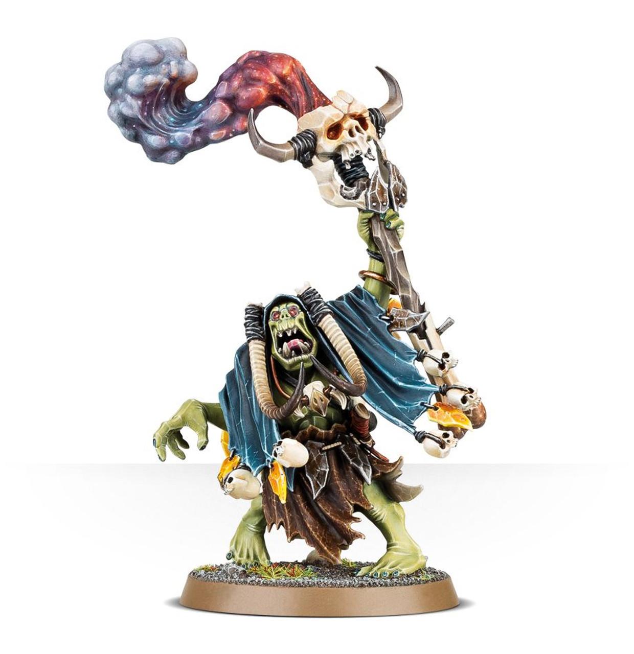 Warhammer Age of Sigmar: Ironjawz - Orruk Weirdnob Shaman