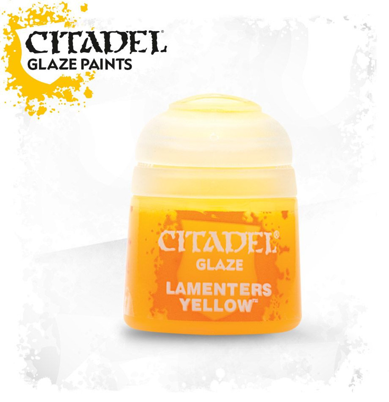 Citadel Glaze Paint: Lamenter's Yellow (12ml)