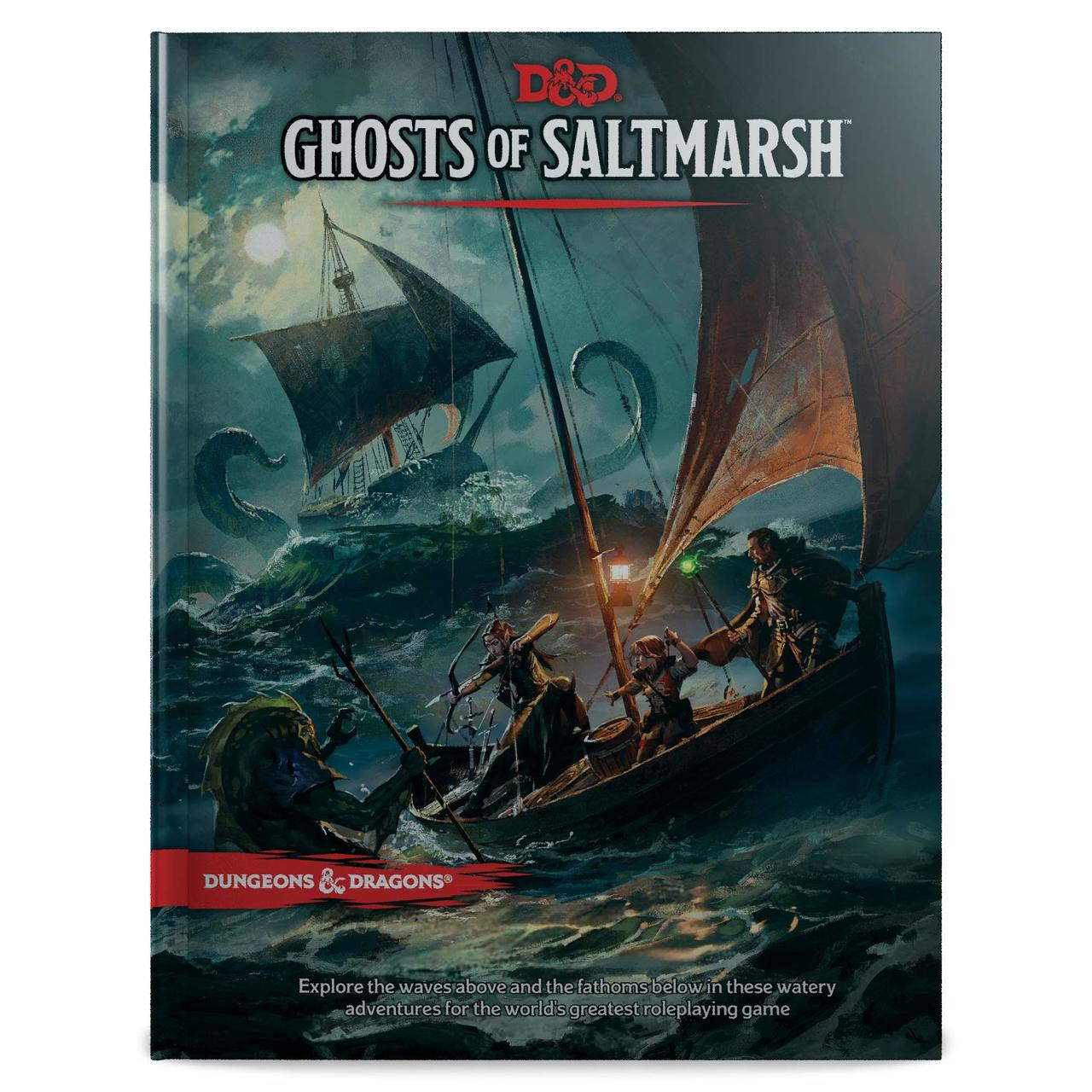 Dungeons & Dragons 5th Edition RPG: Ghosts of Saltmarsh (Hardcover)