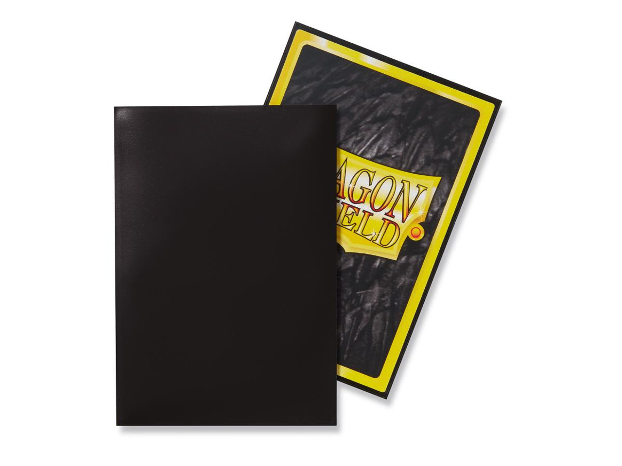 Dragon Shield: Japanese Size Card Sleeves - Matte Black (60 ct)