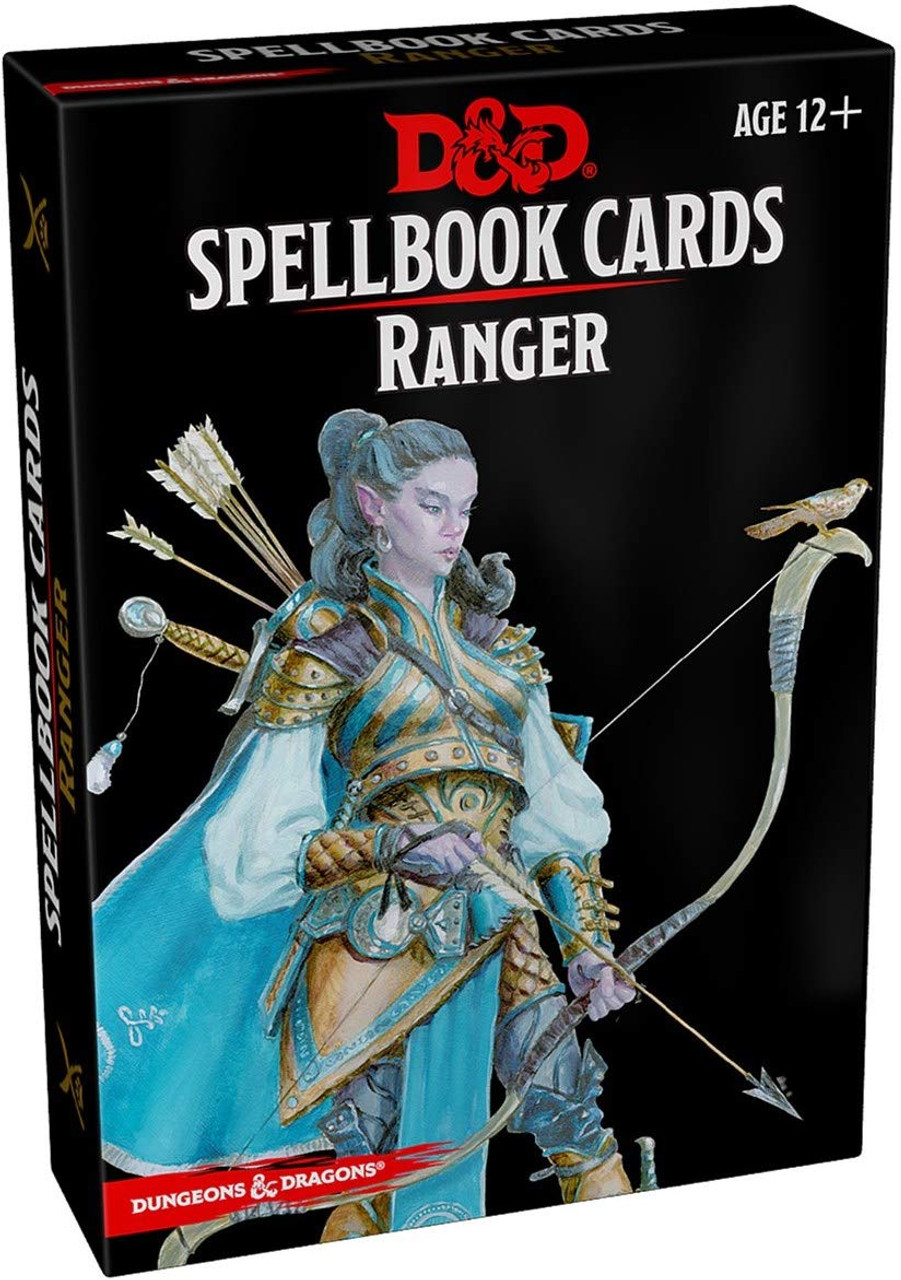 Dungeons and Dragons 5th Edition RPG: Spellbook Cards - Ranger