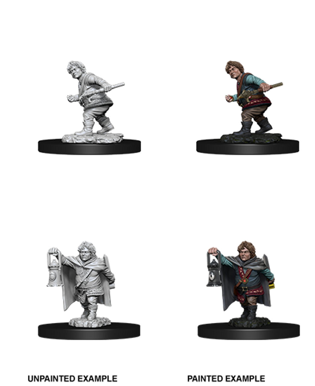 D D Nolzur S Marvelous Miniatures Male Halfling Rogue Wave 11 The Dragon S Lair My first character ever, killed on her second game. d d nolzur s marvelous miniatures male halfling rogue wave 11