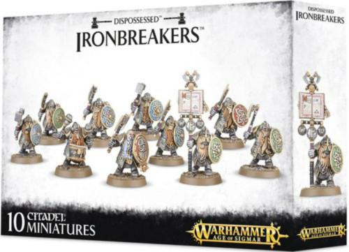 Warhammer Age of Sigmar: Dwarf Ironbreakers