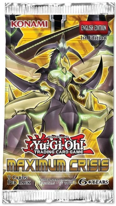 Yu-Gi-Oh! Max Crisis - Booster Pack