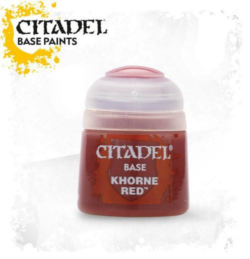 Citadel: Base Paint - Khorne Red (12ml)