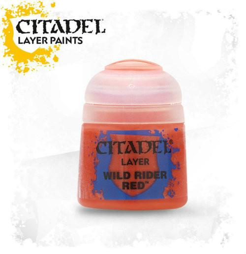 Citadel: Layer Paint - Wild Rider Red (12ml)
