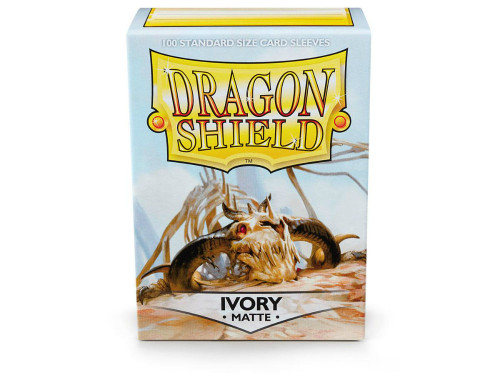 Dragon Shield Card Sleeves: Matte Ivory (100)