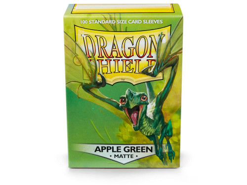 Dragon Shield Card Sleeves: Matte Apple Green (100)
