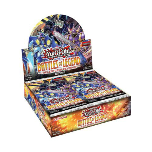 Yu-Gi-Oh!: Battles of Legend - Relentless Revenge (Booster Box)