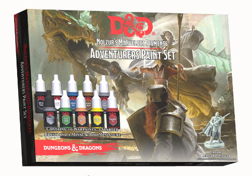 Dungeons & Dragons: Nolzur`s Marvelous Pigments - Adventurers Paint Set