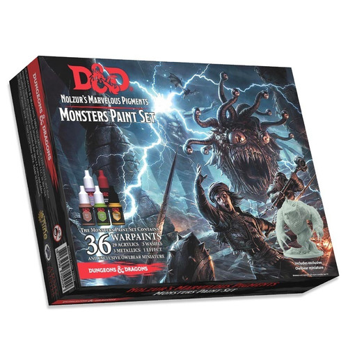 Dungeons & Dragons Nolzur`s Marvelous Pigments - Monster Paint Set