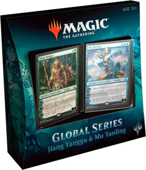 Magic the Gathering: Global Series - Jiang Yanggu & Mu Yanling Planeswalker Deck Set (2 Theme Decks)