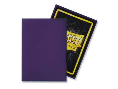 Dragon Shield: Standard Card Sleeves - Matte Purple (100 ct)