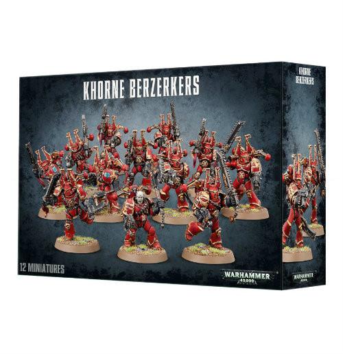 Warhammer 40K: Chaos Space Marines - Khorne Berserkers