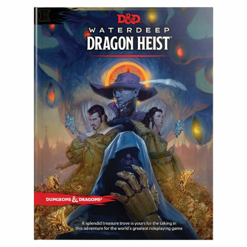 Dungeons and Dragons: Waterdeep - Dragon Heist (Hardcover)