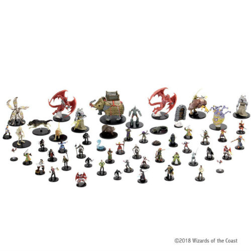Dungeons & Dragons Fantasy Miniatures: Waterdeep Dragon Heist - Booster