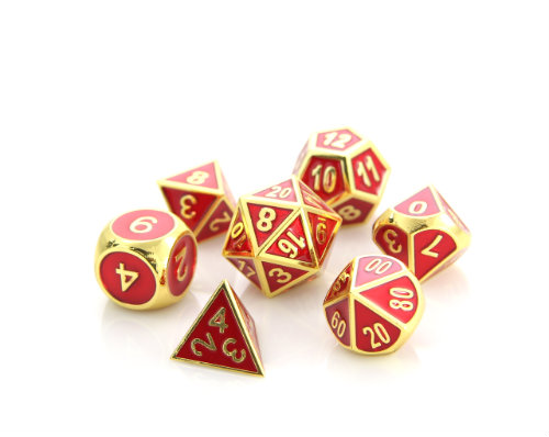 Die Hard Dice: Gold Ruby - Gemstone Collection
