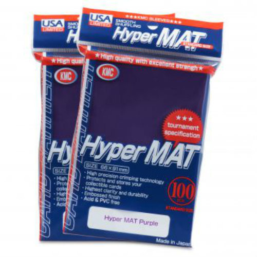 KMC: Hyper Matte Purple - 100 ct