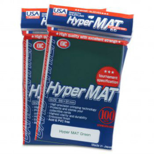 KMC: Hyper Matte Green - 100 ct