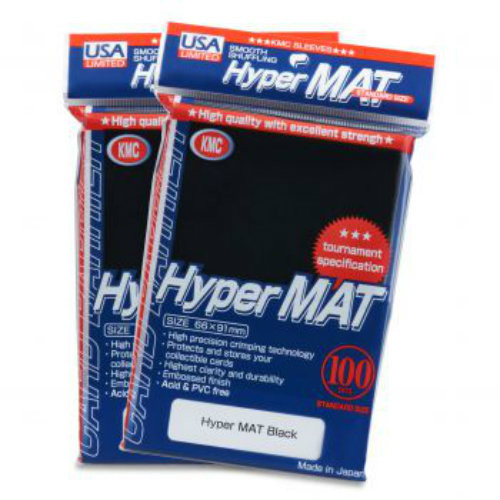 KMC: Hyper Matte Black - 100 ct