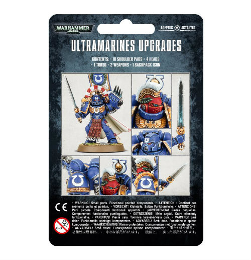 Warhammer 40K: Ultramarines Upgrades