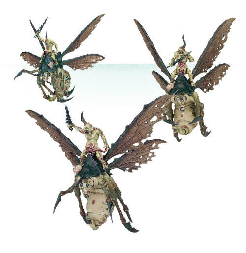 Warhammer 40K/Age of Sigmar: Chaos Daemons - Plague Drones