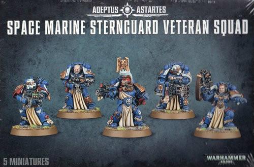 Warhammer 40K: Space Marines - Sternguard Veteran Squad