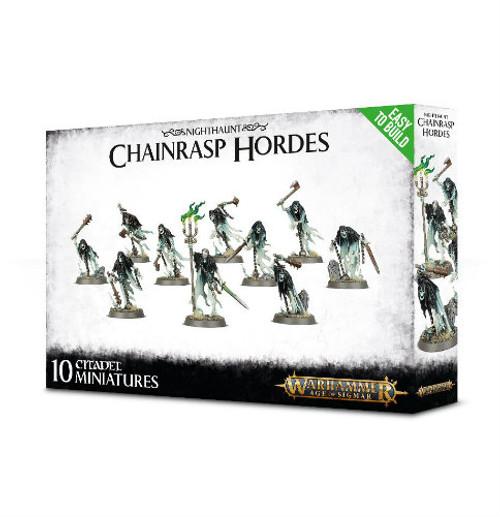 Warhammer Age of Sigmar: Nighthaunt - Chainrasp Hordes (Easy to Build)