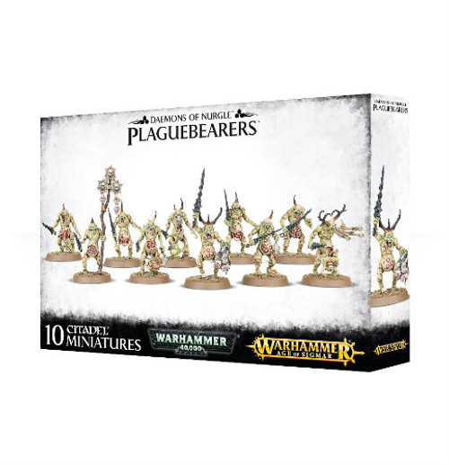 Warhammer 40K/Age of Sigmar: Chaos Daemons - Plaguebearers of Nurgle