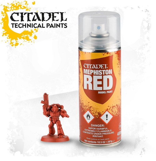 Citadel Paint: Mephiston Red Spray (400ml)